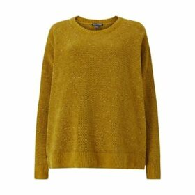 EILEEN FISHER Crew Neck Box Top, Arnica