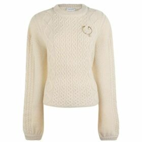 Magda Butrym Braid Knit Jumper