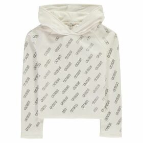Guess Sequin Hoodie - True White TWHT