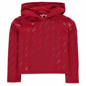 Guess Sequin Hoodie - Red