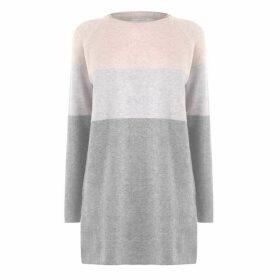 Only Long Sleeve Jumper Dress - Mahogony Rose