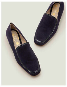 Rae Loafers Navy Women Boden, Navy