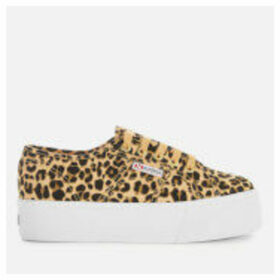 Superga Women's 2790 Fancotw Trainers - Classic Leopard - UK 7 - Multi