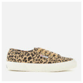 Superga Women's 2750 Fantasy Cotu Trainers - Classic Leopard - UK 8 - Multi