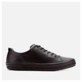 Camper Women's Hoops Leather Low Top Trainers - Black - UK 8