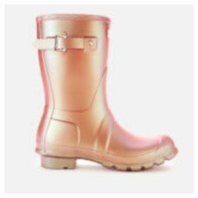 Hunter Women's Original Short Nebula Boots - Rhythmic Pink - UK 8