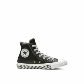 Hi Top Chuck Taylor All Star Leather Voltage