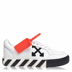 Off White Vulcan Low Leather Trainers