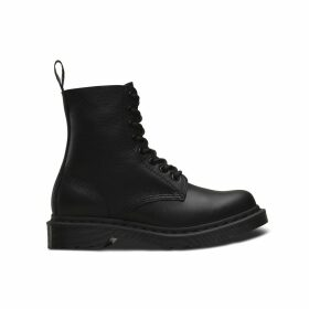 Pascal Mono Leather Ankle Boots