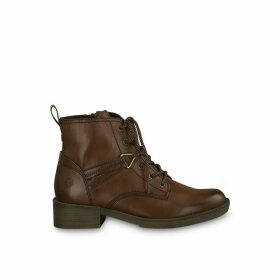 Hayden Lace-Up Ankle Boots