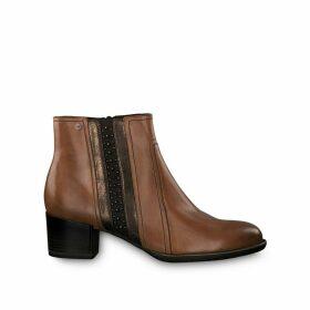 Akaria Heeled Leather Boots