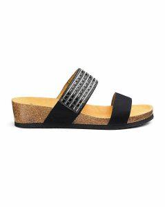 Scholl Daphne Slider Sandals