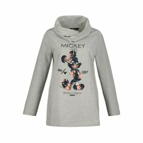 Mickey Mouse Slip-On Hoodie in Cotton Mix