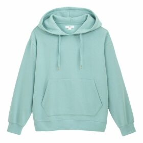 Plain Cotton Hoodie with Pockets