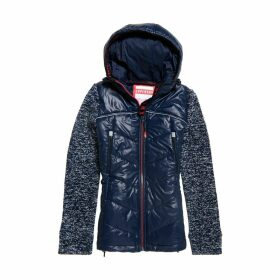 Classic Storm Padded Jacket with Fabric Sleves