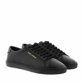 Saint Laurent Sneakers - Andy Sneaker Leather Black - black - Sneakers for ladies