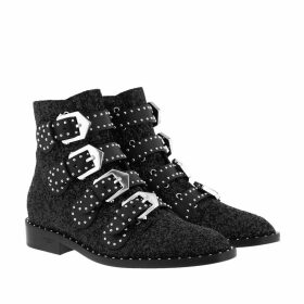 Givenchy Boots & Booties - Elegant Flat Ankle Boots Leather Black - black - Boots & Booties for ladies