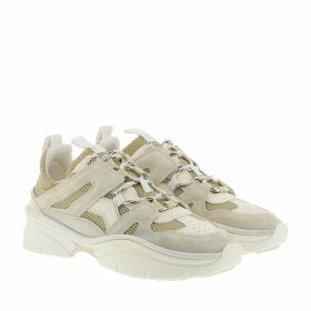 Isabel Marant Sneakers - Kindsay Sneaker Leather Chalk - white - Sneakers for ladies