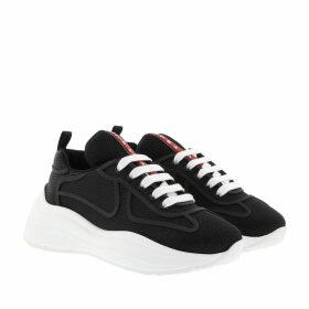 Prada Sneakers - Low-Top Sneaker Black/White - black - Sneakers for ladies