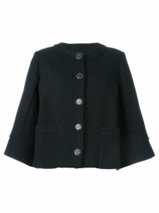 Chanel Pre-Owned cape-style jacket - Black