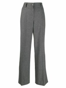 Chanel Pre-Owned 2007 wide-leg trousers - Grey