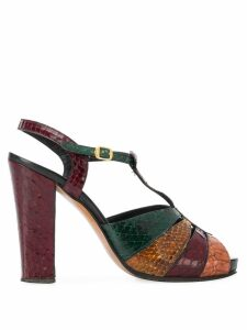 A.N.G.E.L.O. Vintage Cult 1970s strappy block sandals - Brown