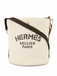 Hermès pre-owned Sac De Pansage shoulder bag - White