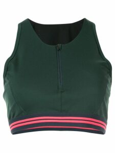LNDR fitted zip up top - Green