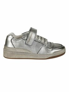 Saint Laurent Perforated Sneakers
