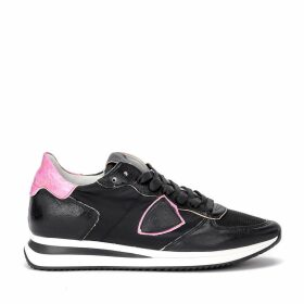 Philippe Model Tropez X Sneaker Made In Black Leather