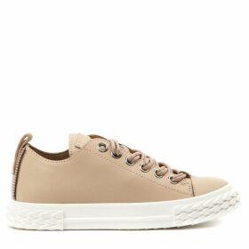 Giuseppe Zanotti Blabber Cream Leather Sneaker