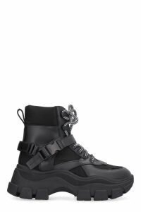 Prada Prada Block High-top Sneakers