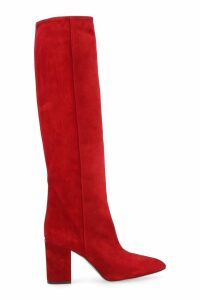 Paris Texas Suede Knee-high Boots