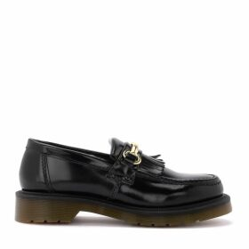 Dr. Martens Adrian Moccasin In Black Leather With Clamp