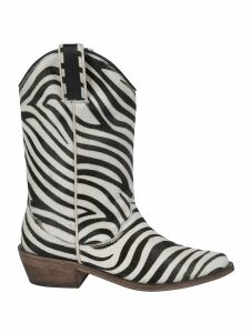 Parosh Striped Boots