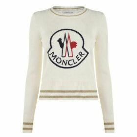 Moncler Logo Knit Jumper
