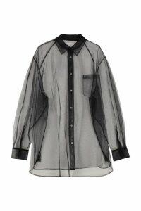 Maison Margiela Oversize Tulle Shirt