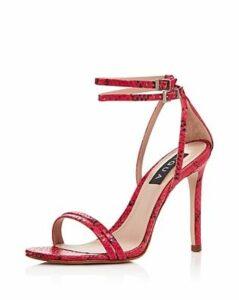 Aqua Women's Silvana High-Heel Strappy Sandals - 100% Exclusive