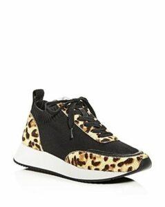 Loeffler Randall Women's Remi Calf Hair Low-Top Sneakers