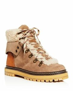 See by Chloe Women's Shearling Hiker Boots