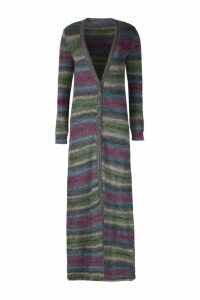 Jacquemus Striped Long Cardigan