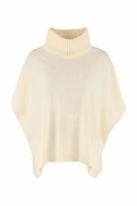 Weekend Max Mara Albero Wool And Cashmere Poncho