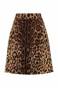 Dolce & Gabbana Printed A-line Skirt