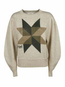 Isabel Marant Front Print Detail Sweatshirt