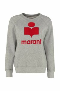 Isabel Marant Étoile Milly Cotton Crew-neck Sweatshirt
