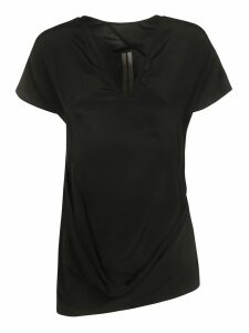 Rick Owens V-neck Asymmetric Hem Top