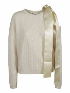 Be Blumarine Side Bow Detail Sweater