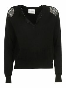 Be Blumarine Shoulder Laced Jumper