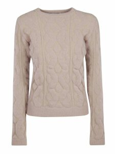 Blumarine Patterned Detail Sweater