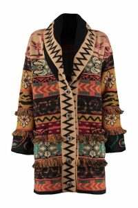 Etro Jacquard Knit Coat